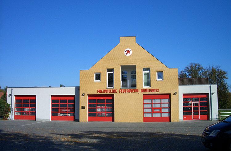 Feuerwehr Dahlewitz strassenansicht